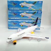 131G mainan pesawat garuda /mainan anak airbus garuda
