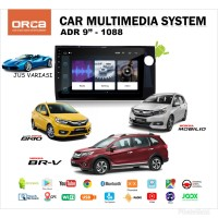 "DOUBLE DIN HEAD UNIT ANDROID 9"" ORCA ADR 1088 OEM BRIO BRV MOBILIO"
