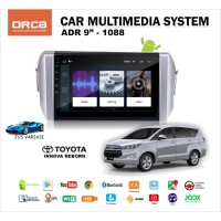"DOUBLE DIN HEAD UNIT ANDROID 9"" OEM TOYOTA INNOVA REBORN"
