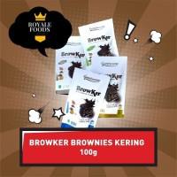 Paket 3 Pcs Cemilan Brownies Kering Browker dari Gemirasary Mix Rasa