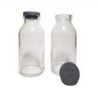 Botol Kaca Asi 100ml - ASIP - Tutup Karet - Botol Susu Bayi-Botol Vial