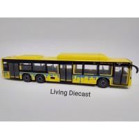 Diecast Maxi Bus - Man Lions City Bus (yellow color)