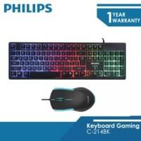 Philips Mouse Dan Keyboard Bundle GAMING Momentum - C214BK