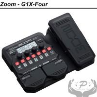 Zoom Multi Efek Pedal Gitar G1X Four Effect Guitar G1XFour Original