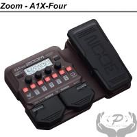 Zoom A1X Four Akustik Multi Efek A1XFour Gitar Saxophone Violin
