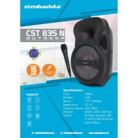 Speaker Bluetooth Portable Simbadda CST 835N Outdoor