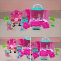 Mainan Rumah Rumahan - Mainan Perabot Rumah - Mainan Anak Perempuan