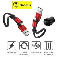 Baseus Kabel Data iphone Nimble Fast Charging Lightning 2A -23cm