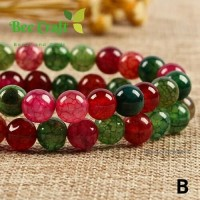 bahan Batu agate watermelin jade 8mm