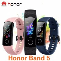 Huawei Honor Band 5 Smartband - Blood Oxygen Heart Rate Garansi Resmi