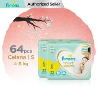 Pampers Popok Celana Premium Care S 32 - Paket isi 2