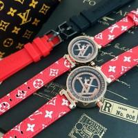 Jam Tangan louis Vuitton Couple Paket Tali
