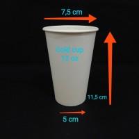paper cup 12oz cc.