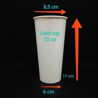 paper cup 22oz cc.