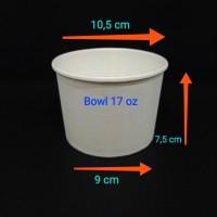 paper bowl 17oz 500ml.