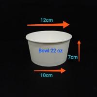 paper bowl 22oz 650ml.