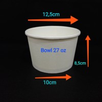 paper bowl 27oz 800ml.