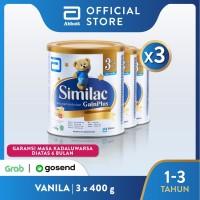 Similac GainPlus 400 g (1-3 tahun) Susu Pertumbuhan - 3 klg