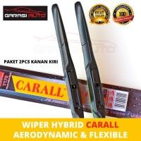 Wiper Kaca Depan All New Jazz RS Hybrid Carall Premium Karet Frameless