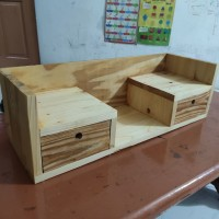 custom furniture jati Belanda / meja kecil / lemari / rak kayu / kotak
