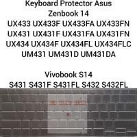 Keyboard Protector Asus Zenbook 14 UX433 UX431 UX434 UM431 S431 S432