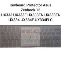 Keyboard Protector Asus Zenbook 13 UX333 UX333F UX333FA UX333FN UX334