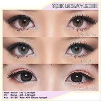 READY STOCK PRINCESS TORIC SOFTLENS/SOFTLENS SILINDER - Clear