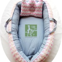 BabyNest Baby Nest Kasur Bayi kado lahiran murah terbaik retro pink