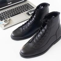 Sepatu boot pria kulit Model Bernardi (Kickers,Delta,Caterpillar)