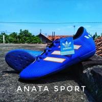 adidas messi blue/biru sepatu futsal murah keren