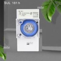 Timer Analog Theben SUL181H Switch Switcher 24 Jam/H Panel Otomatis