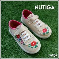 Inka Sepatu Anak Casual Bordir Perekat Cantik