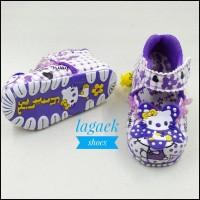 Sepatu anak perempuan usia 1 2 3 tahun renda karakter flat slip on