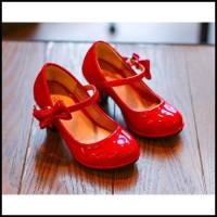 Sepatu Pesta High Heels Anak/ Sepatu Sandal Hak Tinggi Anak Perempuan