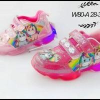 Sepatu Lampu anak Import Karakter