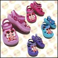 Sandal anak LOL perempuan yutu / sendal LOL anak yutu