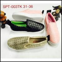 sepatu anak kanvas slip on foxing import luofu import 003tk