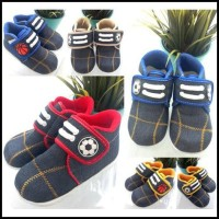 GK @28rb seri 3pc - E798 - lokal - sepatu bola denim size 3-18m