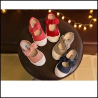 342103 - IMPORT Sepatu Flat Anak Perempuan - Motif Cute Ribbon