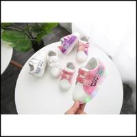 ChubbyToodler SH18172 Sepatu anak lampu sweet kitty perempuan import