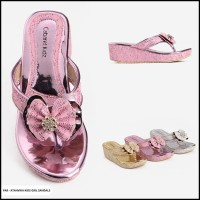 Omah Fesyen Atahvika Glitter Slop Kids Girl Sandals