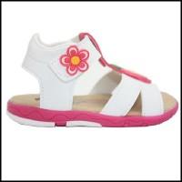 Dr. Kevin Kids Girls Sandals 171-001 - White