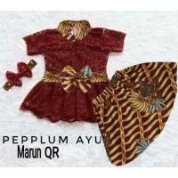 hoot sale Fashion Anak Perempuan Setelan Kebaya Peplum Ayu Volume 2
