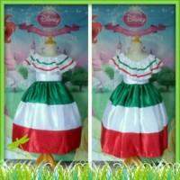 hoot sale Baju Kostum Negara Mexico Size 2-7thn terjamin