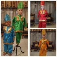 hoot sale Baju adat daerah sumatera barat padang minang anak laki laki