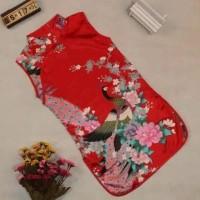 hoot sale cheongsam anak/dress anak import/baju anak perempuan