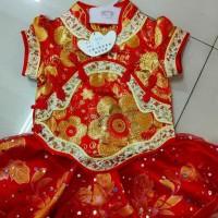 hoot sale baju imlek cheongsam anak perempuan 1839, 8148, 8150