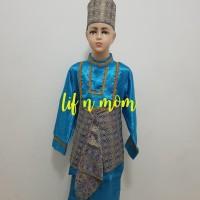 hoot sale baju adat anak palembang sumatera selatan laki L terjamin