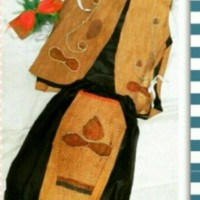 hoot sale Pakaian adat anak baju papua kayu Lk - Pr terjamin