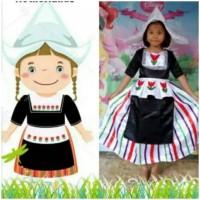 hoot sale Kostum Perempuan Baju Tradisional Negara Holland Belanda 2 -